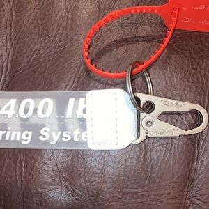 Unisex Industrial Keychain